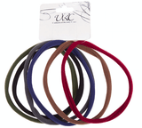 Unlimited Beauty Care Hair Ties Long Hair Ties - Multicolor (6 pieces)