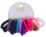 Unlimited Beauty Care Hair Ties Multicolor Elastic Hair Ties (18 Pieces)