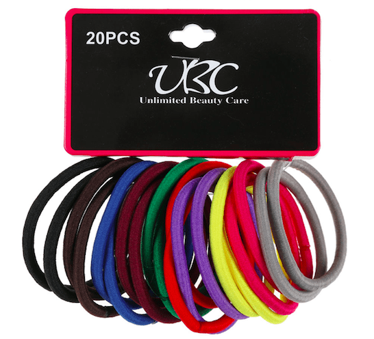 Unlimited Beauty Care Hair Ties Multicolor Hair Tie - 20 pieces