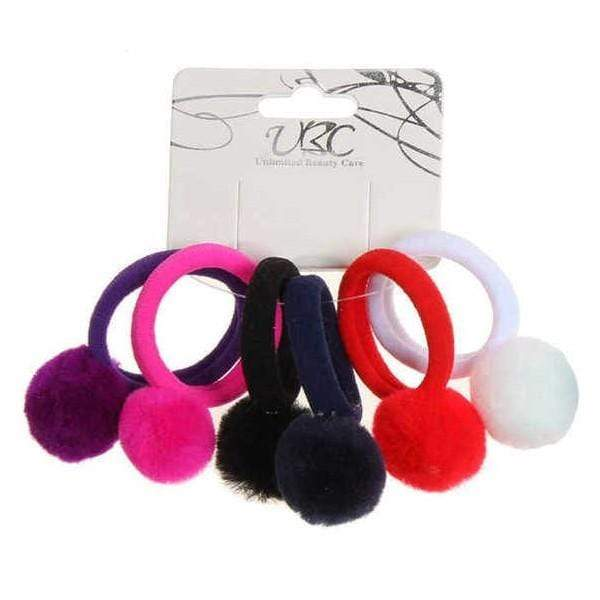 Unlimited Beauty Care Hair Ties Version 1 Pom Pom Hair Ties