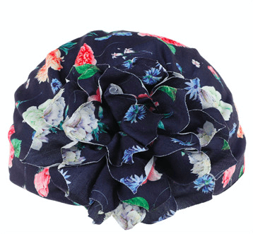 Unlimited Beauty Care Head Turban Kid's Head Turban with Flower Design (multicolor)