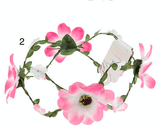 Unlimited Beauty Care Headbands 2 Flowers on Vine Headband