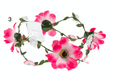 Unlimited Beauty Care Headbands 3 Flowers on Vine Headband