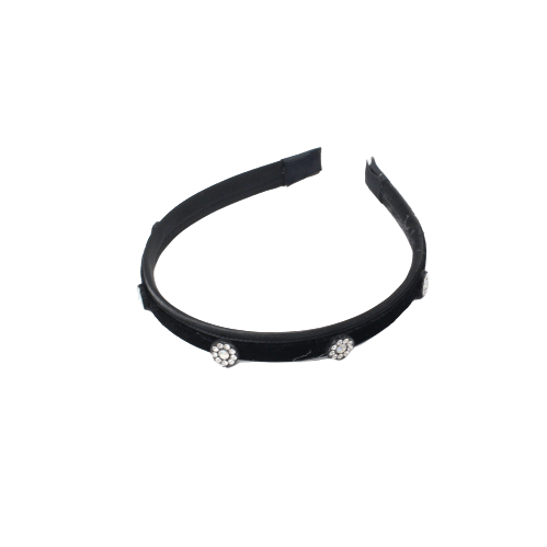Unlimited Beauty Care Headbands Black Rhinestone Headband