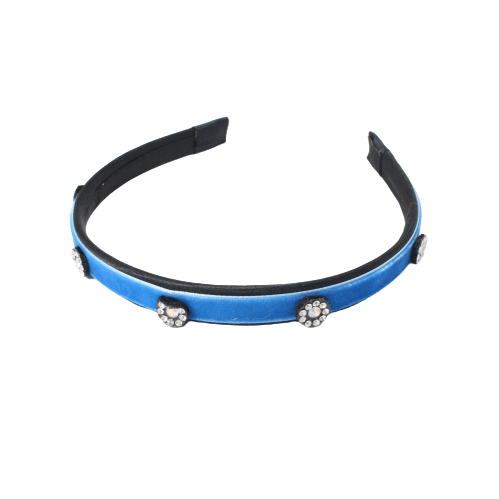 Unlimited Beauty Care Headbands Blue Rhinestone Headband