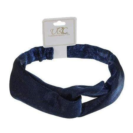 Unlimited Beauty Care Headbands Blue Shiny Lameh Headwrap