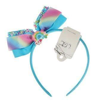 Unlimited Beauty Care Headbands Blue Sprinkled Rainbow Headband