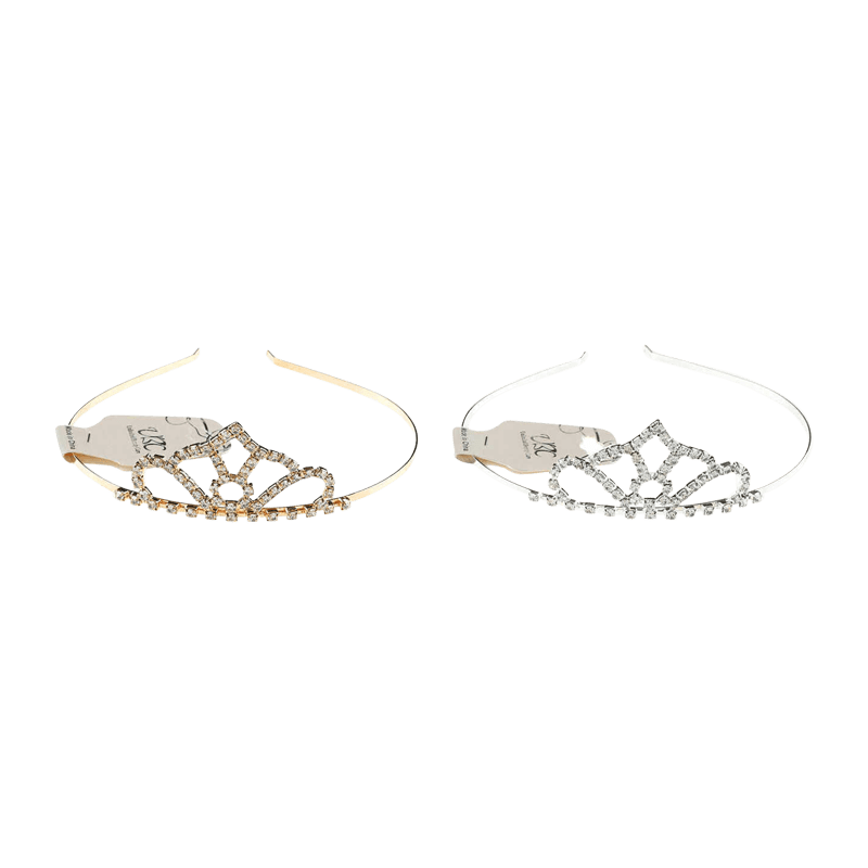 Unlimited Beauty Care Headbands Crown Design Headband Tiara