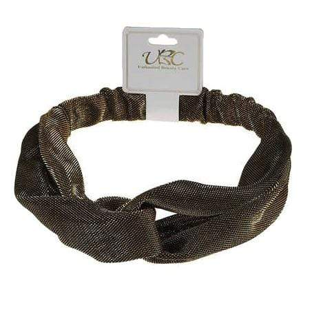 Unlimited Beauty Care Headbands Gold Shiny Lameh Headwrap
