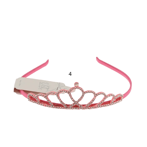Unlimited Beauty Care Headbands Hot Pink Girl's Princess Headband