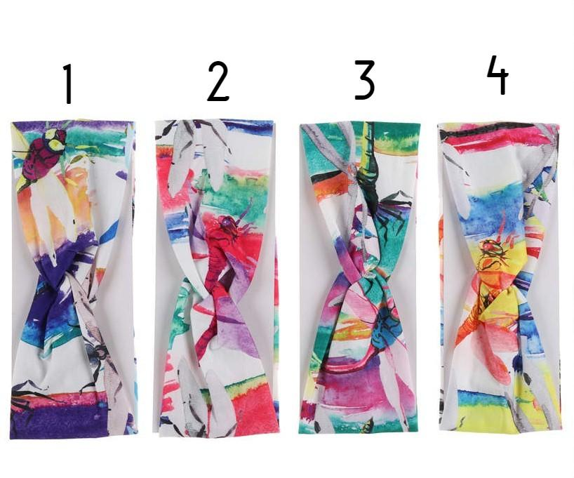 Unlimited Beauty Care Headbands Multicolor Elastic Headband
