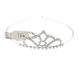 Unlimited Beauty Care Headbands Silver Crown Design Headband Tiara