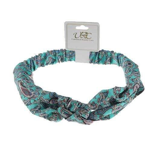 Paisley Print Twisted Headband
