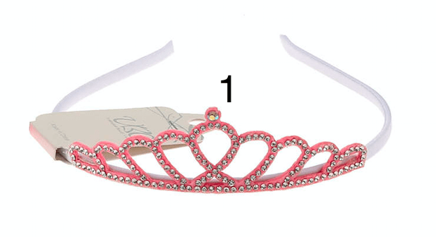 Unlimited Beauty Care Headbands White Girl's Princess Headband