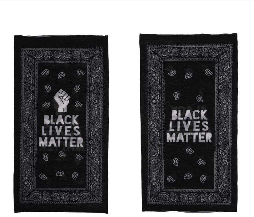 Unlimited Beauty Care Masks Black Lives Matter Face Mask Scarf Turban
