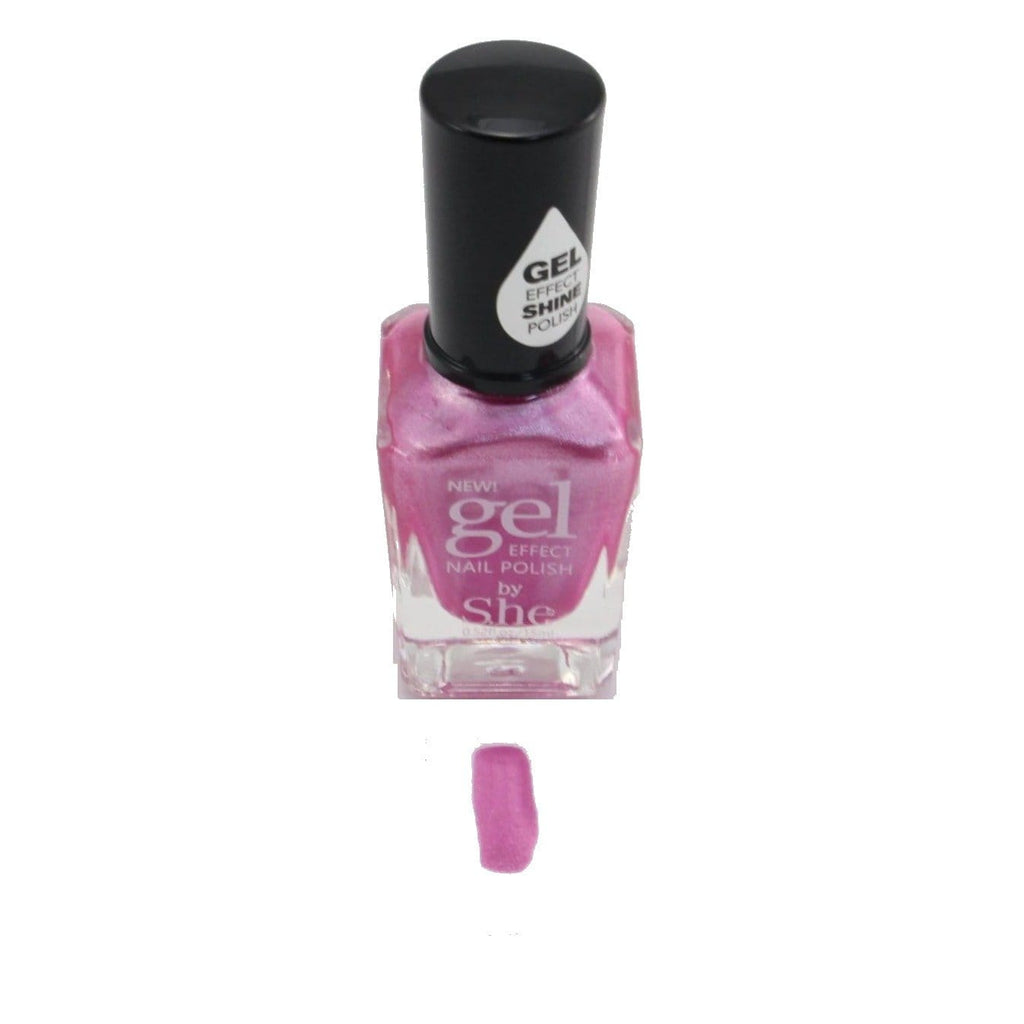 S.he Barbie Powder Gel Effect Nail Polish