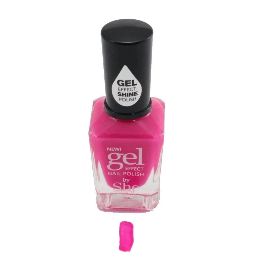 S.he Periwinkle Gel Effect Nail Polish