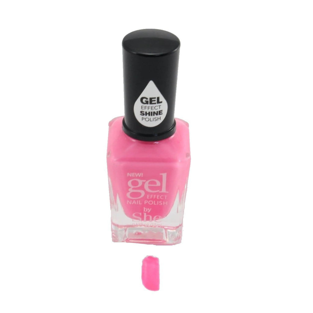 S.he Rose Gel Effect Nail Polish