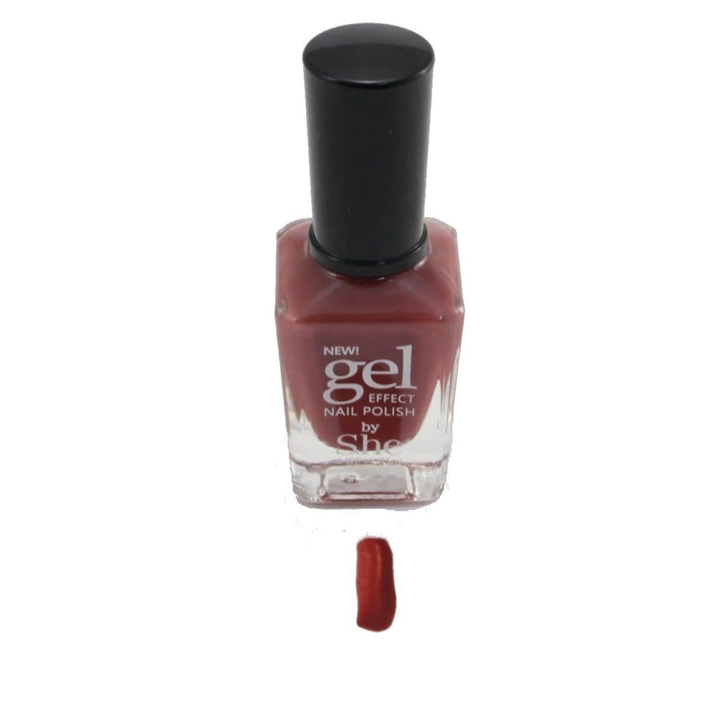 S.he SandalWood Gel Effect Nail Polish