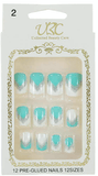 Unlimited Beauty Care Nails 2 Pre-Glued Nails - Multi-Color Patterns (12 pieces)
