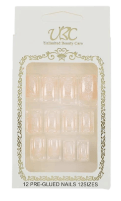 Unlimited Beauty Care Nails 2 Pre-Glued Nails - Patterns (12 pieces)