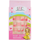 Stick-On Nails for Kids - Pink Theme Color
