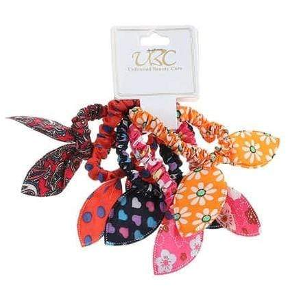 Unlimited Beauty Care Scrunchies 2 Assorted Hair Scrunchies