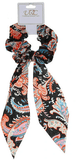 Unlimited Beauty Care Scrunchies 2 Colorful Paisley Pony Scarf