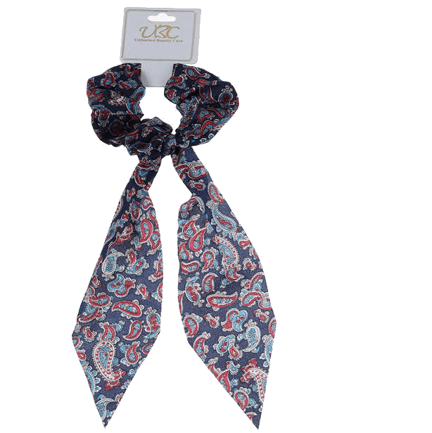 Unlimited Beauty Care Scrunchies 2 Paisley Pony Scarf