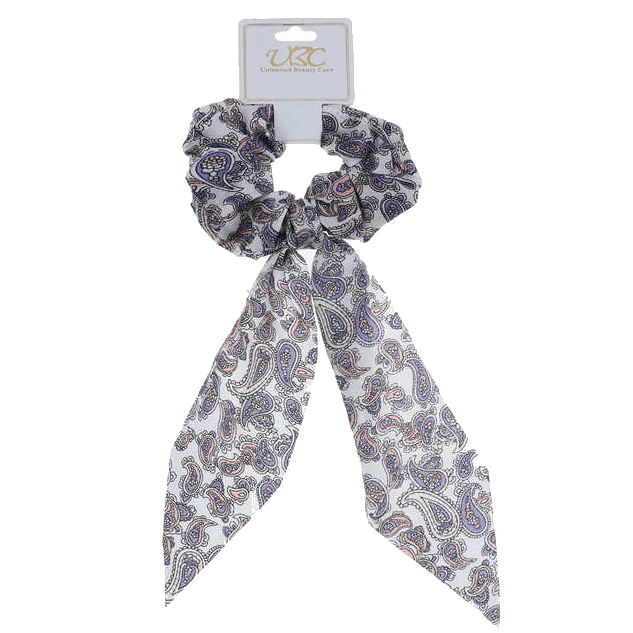 Unlimited Beauty Care Scrunchies 3 Paisley Pony Scarf