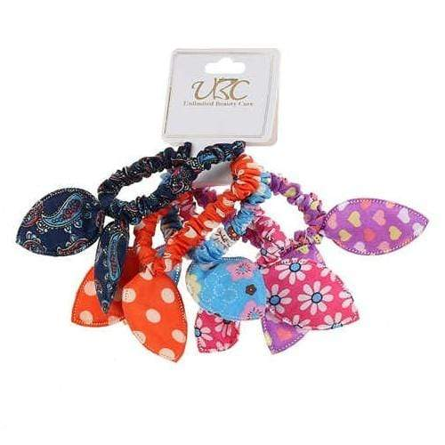 Unlimited Beauty Care Scrunchies 4 Assorted Hair Scrunchies