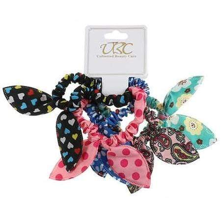 Unlimited Beauty Care Scrunchies 5 Assorted Hair Scrunchies