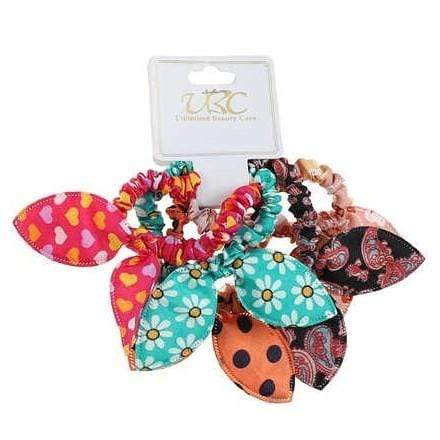 Unlimited Beauty Care Scrunchies 6 Assorted Hair Scrunchies
