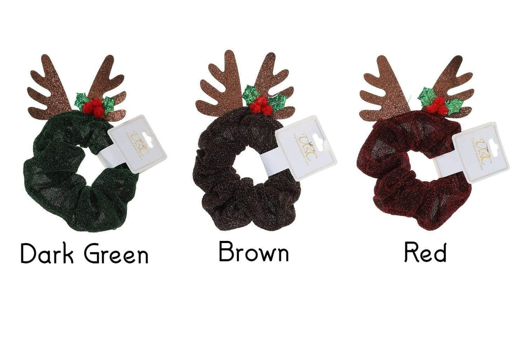 Unlimited Beauty Care Scrunchies Christmas Holiday Scrunchies