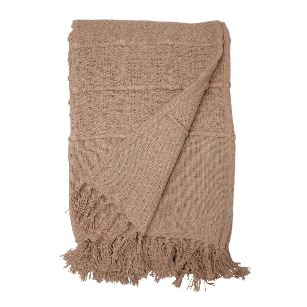 Motti throw in Blush