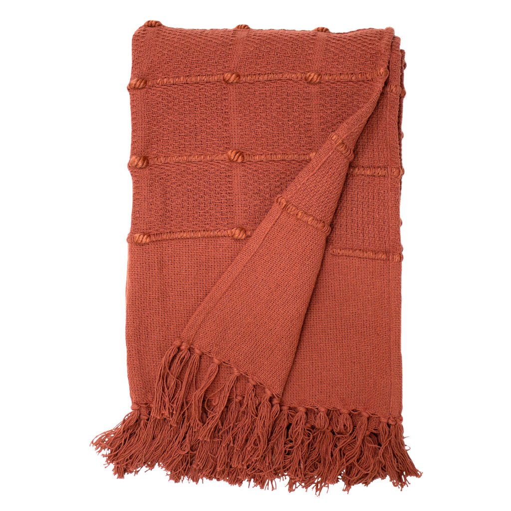 Motti throw in Red Clay