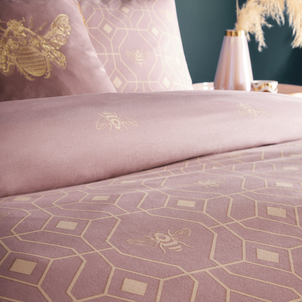 Bee Deco Duvet Cover Set