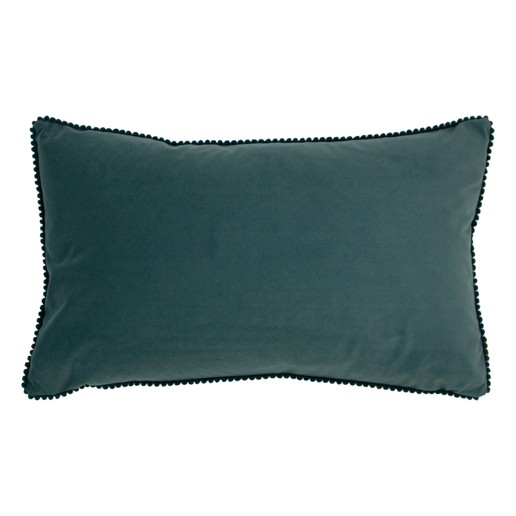 Cosmo Velvet Cushion in Marine
