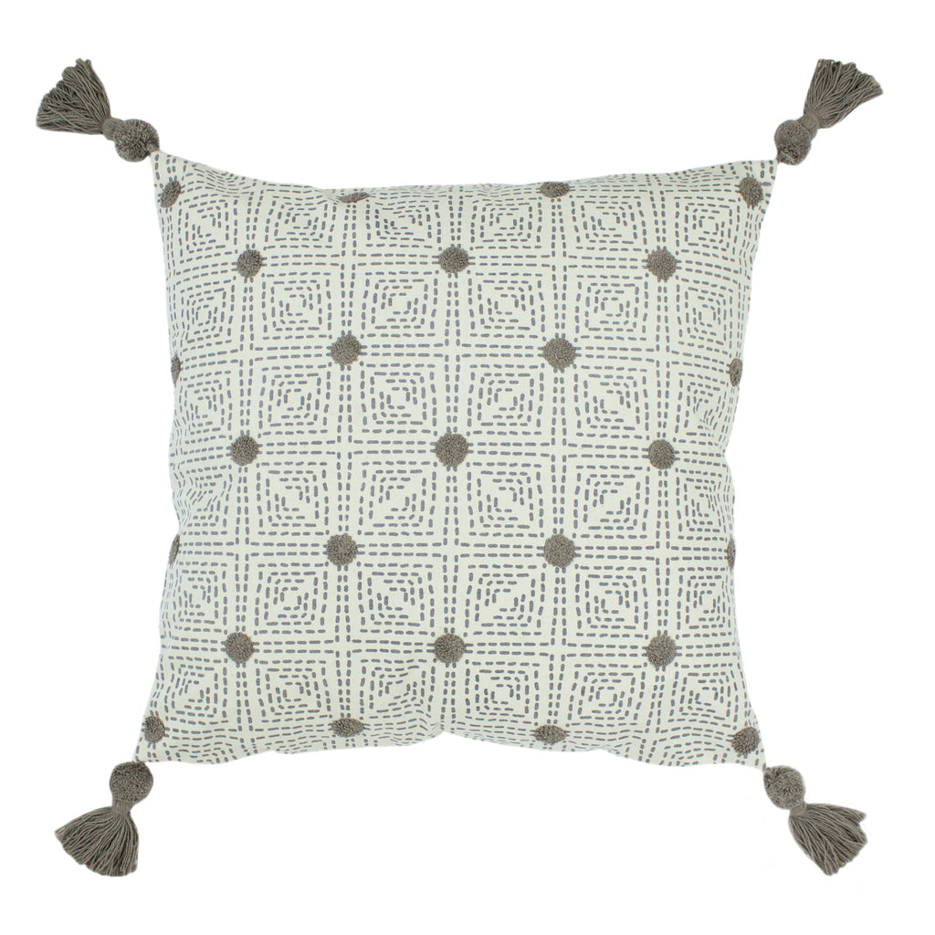 Chia Cushion in Grey