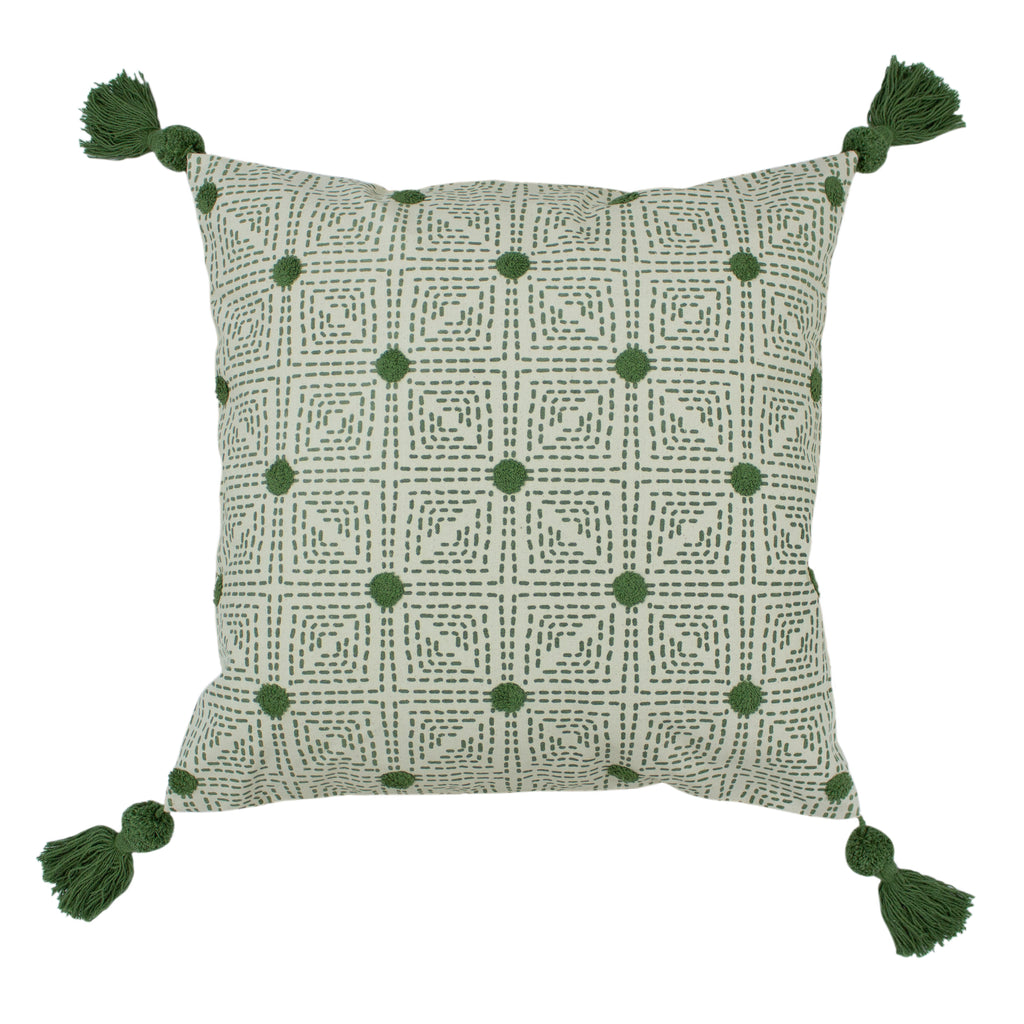 Chia Cushion in Sage