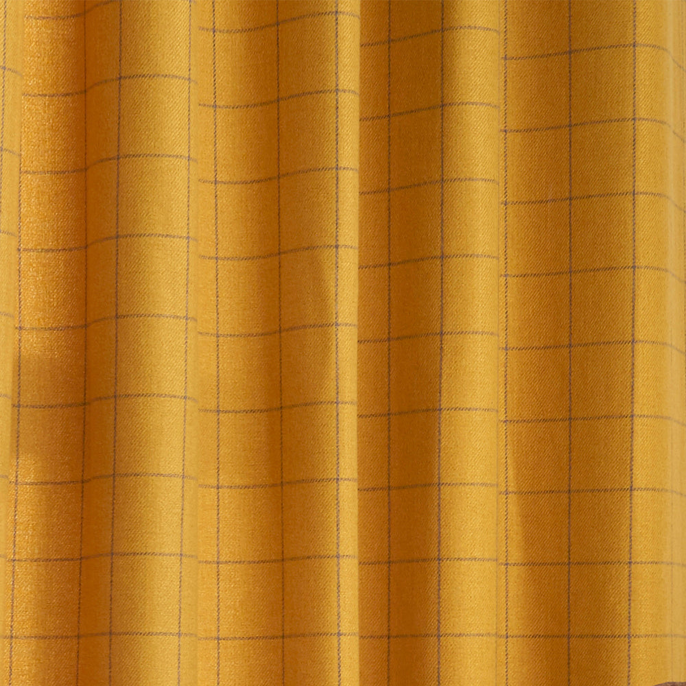 Ellis Eyelet Curtains in Ochre