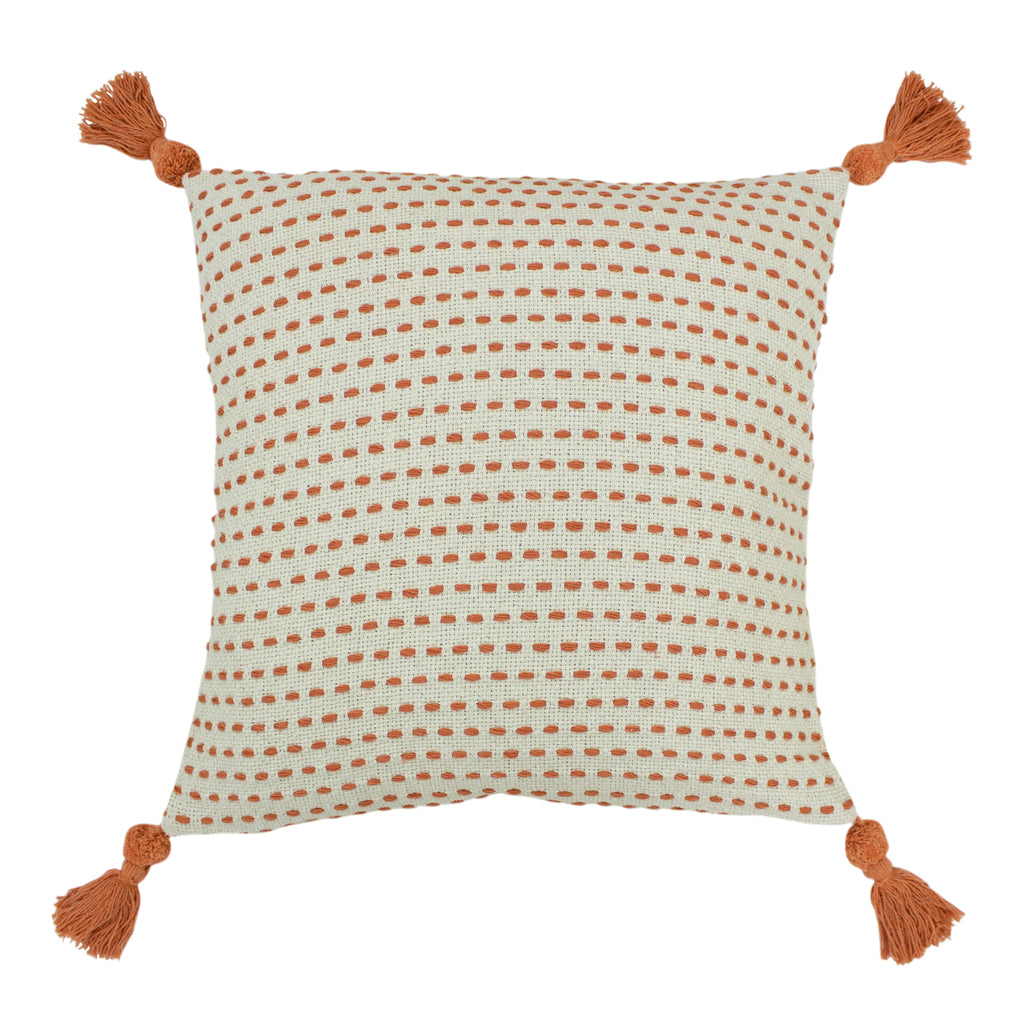 Ezra Cushion in Coral