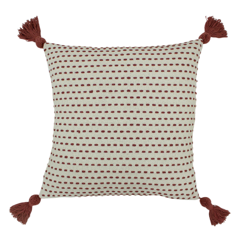 Ezra Cushion in Red Clay