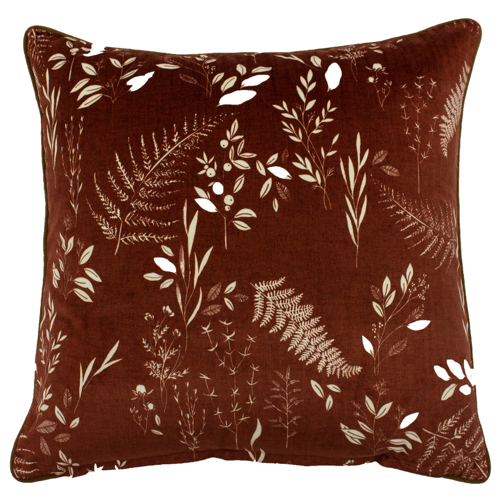 Fearne Cushion in Brick