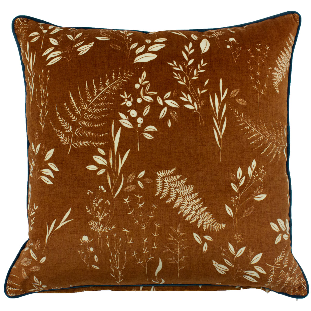 Fearne Cushion in Gingerbread