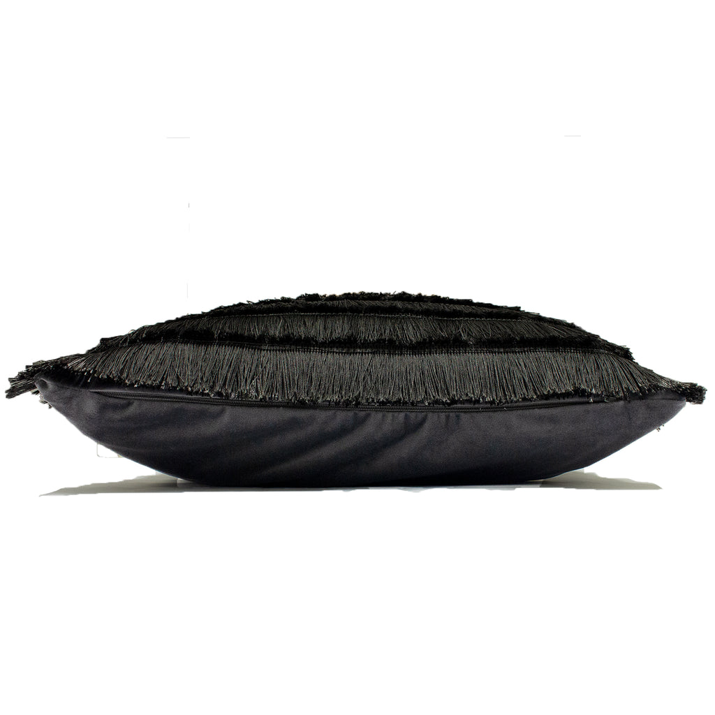 Flicker Cushion in Graphite