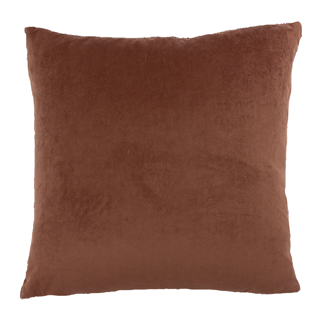 Flicker Cushion in Rose