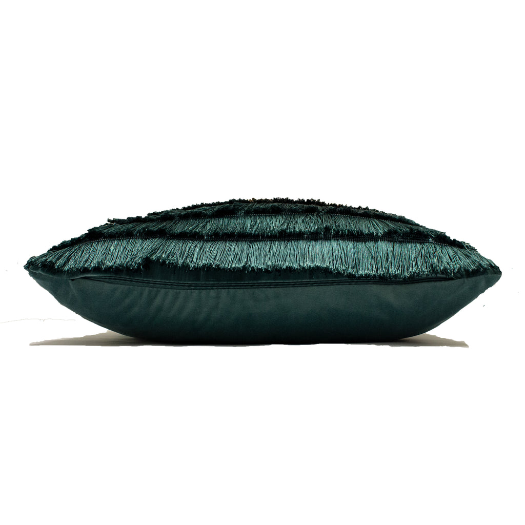 Flicker Cushion in Teal