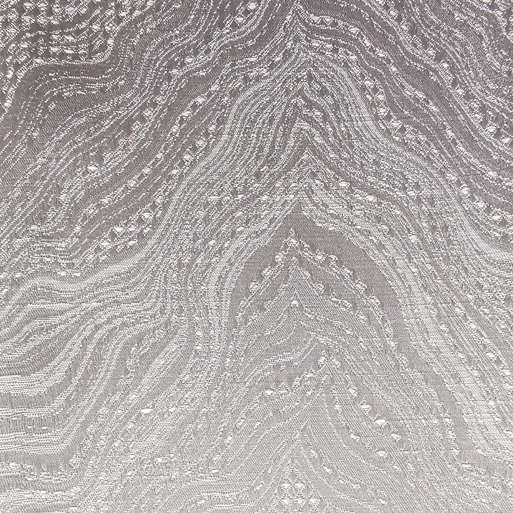 Himalaya Eyelet Curtains in Silver