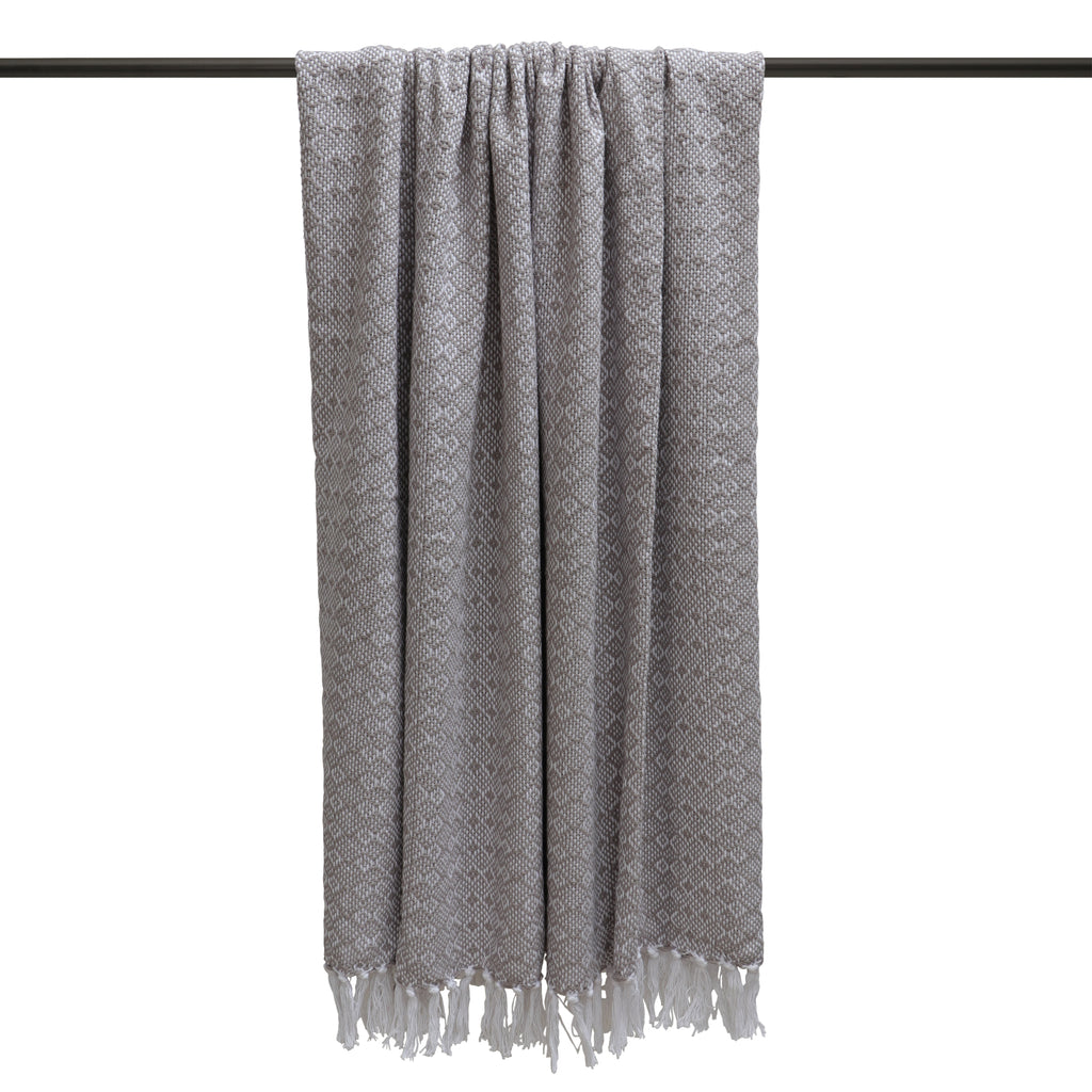 Jewels throw in Warm Grey